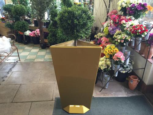 Meduza Design Gold Planter