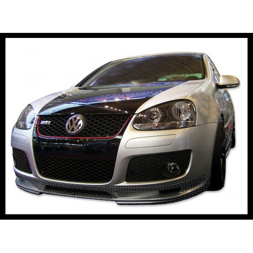 Volkswagen Golf Mk5 Carbon Fibre Front Spoiler for GTi