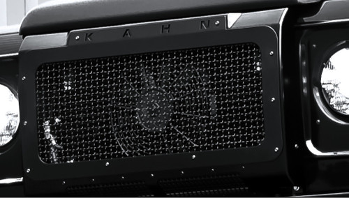 Land Rover Defender 110 Military Style Front Grille SS Mesh
