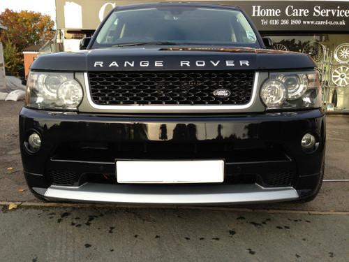 Range Rover Sport Autobiography Style Front Bumper 2010 >