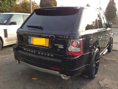 Range Rover Sport Autobiography Roof Spoiler