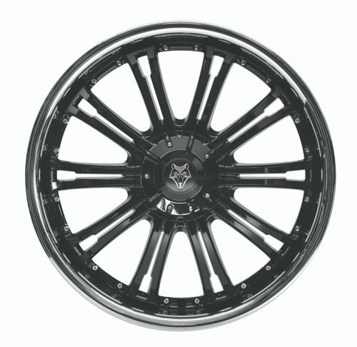 "20"" Wolfrace Design Vermont Sport Black"