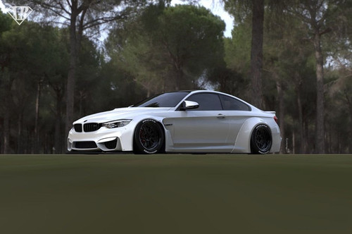 BMW M4 Liberty Walk Body kit