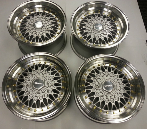 "Dare RS 15"" x 8 Alloy Wheels"
