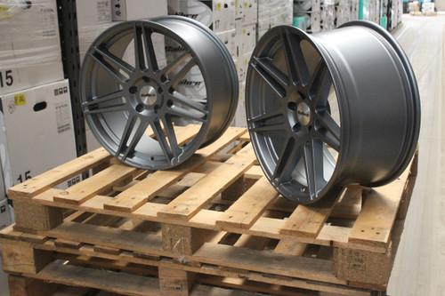 """Calibre CC-R Gunmetal 18"""" Alloy Wheels"""