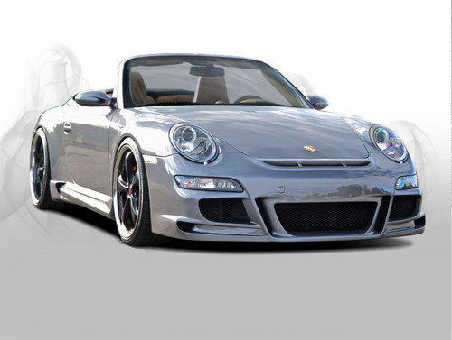 Porsche 911 (997) Coupe & Convertible Black Edition Body Kit