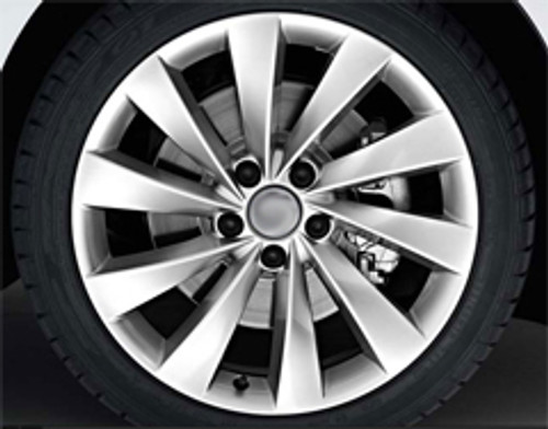"18"" Alloy Wheels & Tyres VW Scirocco Style"