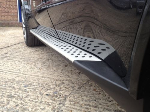 Mercedes Benz ML W164 OEM Style Running Boards Side Steps 2006-2011