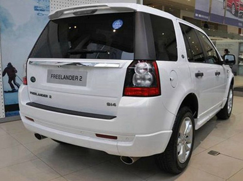 Land Rover Freelander 2 Rear Roof Spoiler