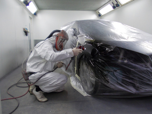 Automotive Paintwork - Repaint Service