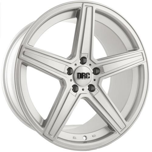 """19"""" Alloy Wheels DRC DMA Silver"""