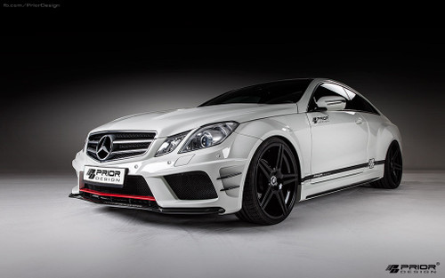 Mercedes E Class Coupe C207 Black Edition Prior Design Bodykit