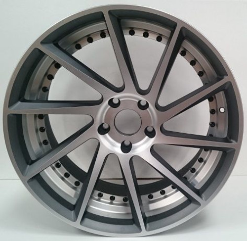 "20"" Meduza MZ1 Alloy Wheels Staggered Fitment"