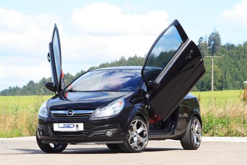 Vauxhall Corsa D LSD Lambo Door Kit