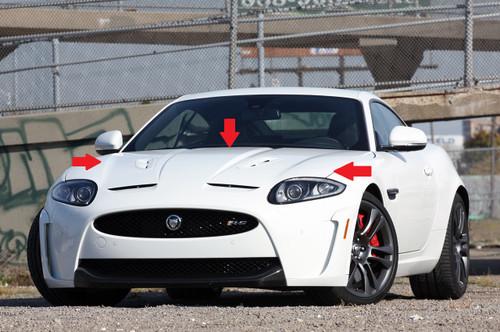 Jaguar XKR-S Bonnet Panel Genuine JLR
