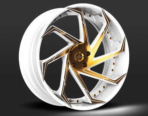 "22"" Alloy Wheels Lexani LZ-117 Forged Range"