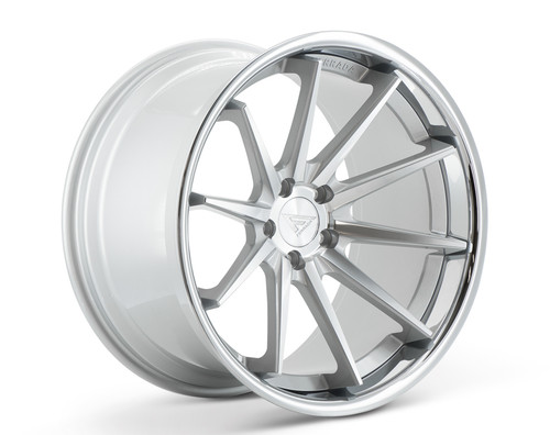 "20"" Ferrada FR4 Alloy Wheels Staggered Fitment"