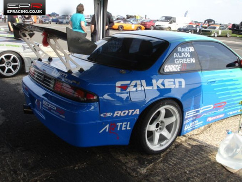 Nissan S14 Rear Fenders +50mm