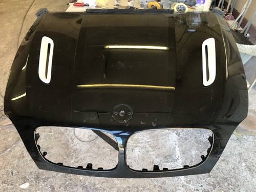 BMW X6 Bonnet Vents