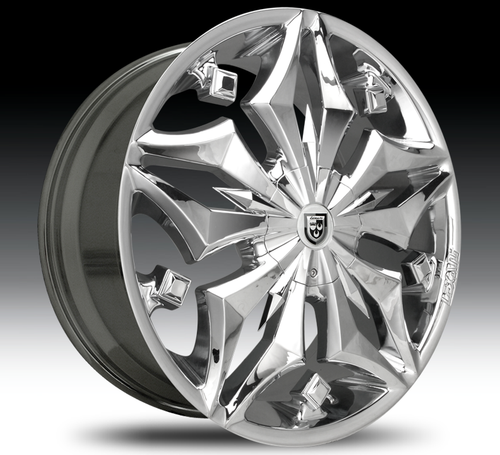 "24"" Lexani Firestar Alloy Wheels"