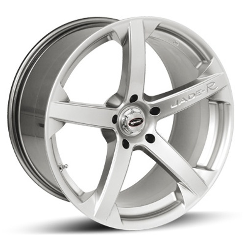 "18"" Team Dynamics Jade R Alloy Wheels Silver"