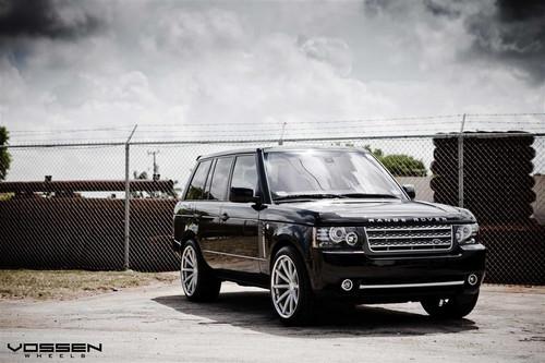 "22"" Vossen CV1 Alloy Wheels & Tyres Range Rover Vogue 2012"