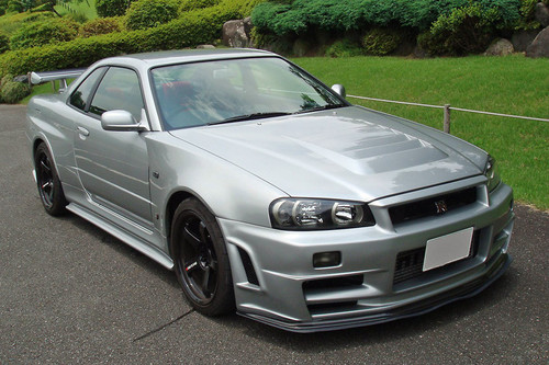 Nissan Skyline R34 GTR Z Tune Style Front Bumper