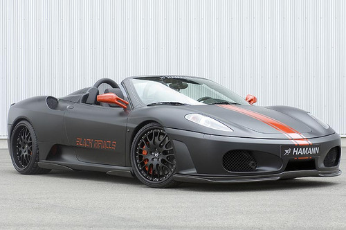 Ferrari 430 Black Miracle Hamann Aerodynamic Styling Body Kit