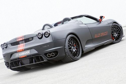 Ferrari 430 Black Miracle Hamann Aerodynamic Styling Body Kit