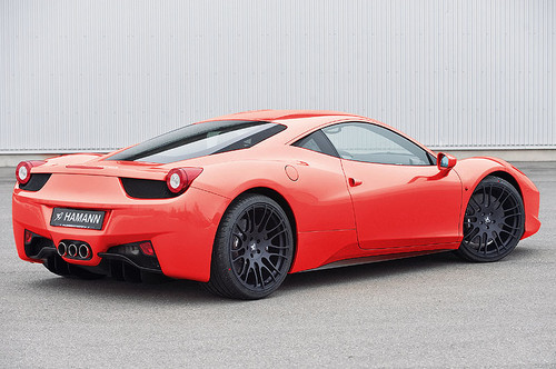 Ferrari 458 Italia Hamann Aerodynamic Styling