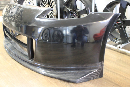 Nissan 350Z N2 Front Bumper with Carbon Fibre Lip