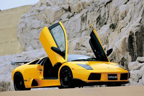Lamborghini Murcielago Wald Aerodynamic Body Kit