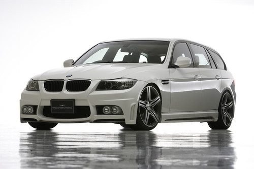 BMW 3 Series E90 Touring Wald International Body Kit