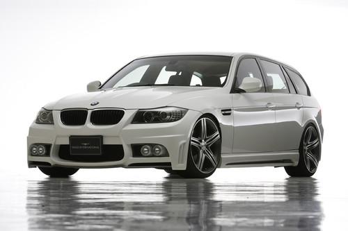 BMW 3 Series E90 Touring Wald International Body Kit