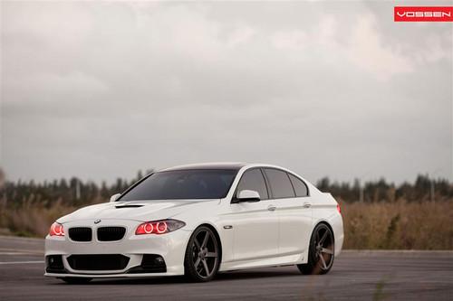 """20"""" Vossen VVS-CV3 Alloy Wheels & Tyres BMW 5 Series"""