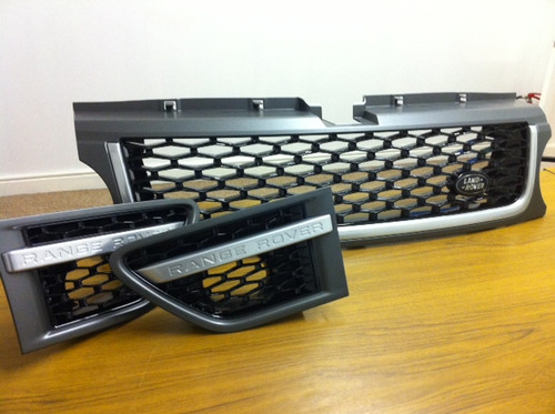 Range Rover Sport Autobiography Style Front Grill and Side Vents