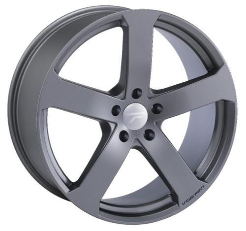 "22"" Alloy Wheels Vogart - Matt Gun Metal TUV Certified"