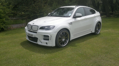 BMW X6 Meduza Aerodynamic Body kit