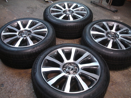 """Range Rover 21"""" 2013 Alloy Wheels and Tyres Style 5"""