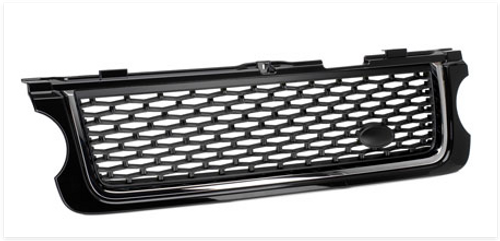 Range Rover 2010 Design Grill Black Mesh & Chrome Trim
