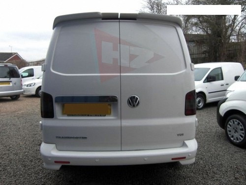 VW Transporter T5 Barn Doors Roof Spoiler