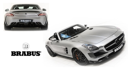 Mercedes SLS Brabus Body Kit