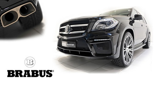 Mercedes GL Brabus Conversion
