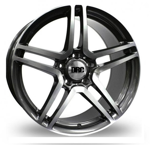 "19"" Alloy Wheels DRC DMB Gunmetal/Polished or Silver"