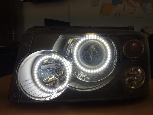 Range Rover Sport LED Headlight Conversion 2012 Spec