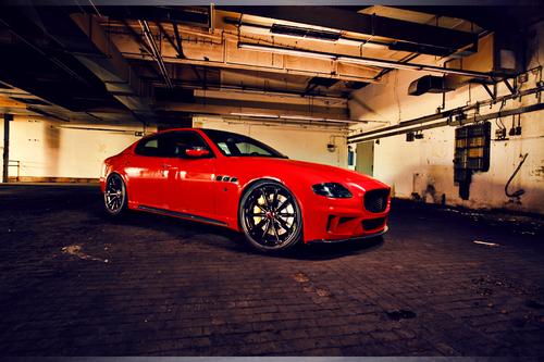 Maserati Quattroporte CDC Body kit