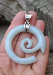 One of a Kind Jadeite Pendant