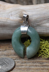 Gorgeous Green Jadeite Pendant
