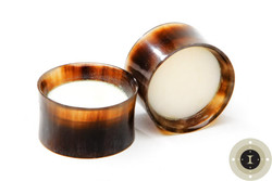 Horn Eyelets with Bone Cap inlay