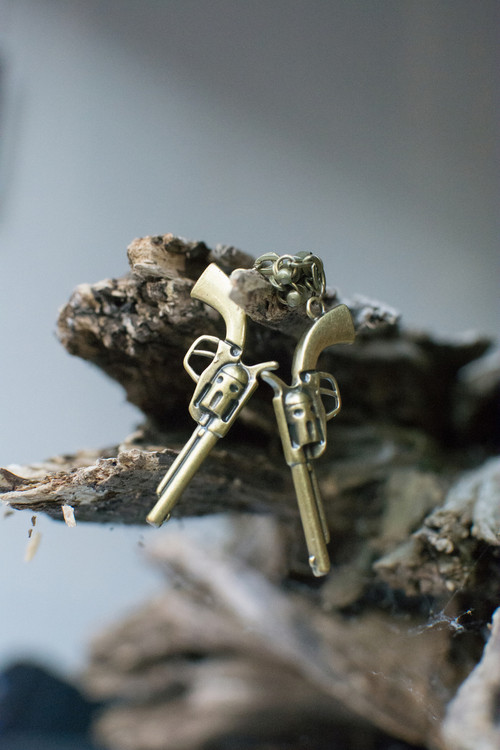 Revolver Magnetic Clasp Gauged Earrings